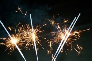 vuurwerk sterretjes