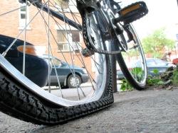 lekke-fietsband